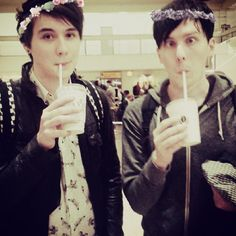 Dan and Phil - I needed to pin this because... How can anyone not?