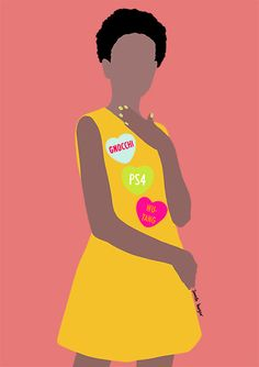 Graphic - Janelle Burger York Restaurants, Momofuku, Freelance Illustrator, Hipster, Disney Princess, Disney Characters, Drawings, Illustration, Fashion