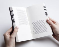 Analogue Interactivity in Contemporary Book Design by Éva Valicsek, via Behance