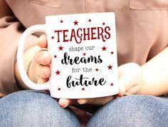 Teacher Mug Teacher Coffee Mug Teacher Gift Teacher by Mugsleys