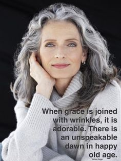 Gray is the new Black: 30 hairstyles for gray hair- Grey is the new Black: 30 Frisuren für graue Haare Because of grandma! What used to be taboo is now awesome: gray hair! We definitely find gray hair absolutely sexy and show you wonderful hairstyles … - Hairstyles Over 50, 2015 Hairstyles, Great Hairstyles, Chic Hairstyles, Formal Hairstyles, Scene Hairstyles, Pixie Hairstyles, Flapper Hairstyles, Ladies Hairstyles