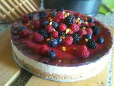 Zdravé Torty: Nepečená tvarohová torta Cheesecake, Favorite Recipes, Cheese Cakes, Cheesecakes