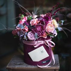 Ideas Birthday Flowers Bouquet Florists Beautiful For 2019 Flowers Nature, Dried Flowers, Paper Flowers, Beautiful Flowers, Flowers Garden, Flower Box Gift, Flower Boxes, Flower Ideas, Beautiful Flower Arrangements
