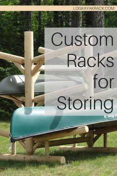 No matter what board, raft, or boat is between you and the water Log Kayak Rack can create a custom designed storage system for it. Unfortunately, it is unrealistic to stay on the water indefinitely but when it's time to come in you can be assured that your watercraft of choice is safe, staying clean and ready for you when you're ready for it. #kayak #logkayakrack Canoe Storage, Outdoor Storage, Northern White Cedar, Kayak Rack, Rack Design, Small Boats, Surfs, Wakeboarding, Water Crafts