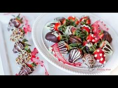 Step-by-step instructions on how to make these easy and beautiful strawberries!  ***Correction! Keep your strawberries for a maximum of 30 minutes in the freezer! Otherwise, place them in the refrigerator if you don't need the strawberries immediately. ***  Please visit my page at www.facebook.com/tatyanaseverydayfood for more recipes and tips!