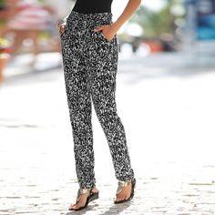 4136c0671cb7 Pantalon fluide Femme rose des sables - Promod