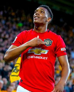 Anthony Martial puts Manchester United ahead with his goal for the club Paul Pogba Manchester United, Manchester United Players, Best Football Team, Football Pictures, Football Players, Neymar Jr Hairstyle, Manchester United Wallpaper, Anthony Martial, Soccer Training