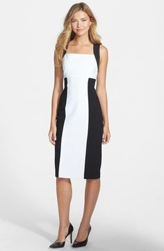 Marc New York by Andrew Marc Colorblock Sheath Dress available at #Nordstrom