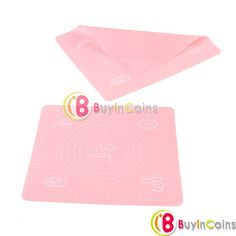 Silicone Rolling Cut Mat Sugarcraft Fondant Clay Pastry Icing Dough Cake Tool -- BuyinCoins.com