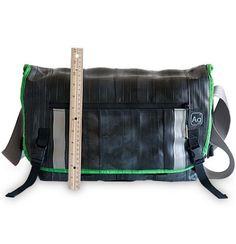 Pike Messenger Bag - Upcycled Cross-body Gear Bag