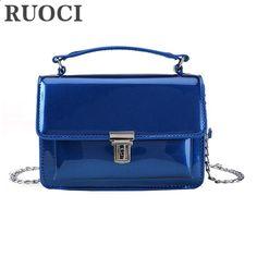 RUOCI malé dámské tašky PU kožené Messenger Bag Designer Mini rameno taška  ženy kabelky Neformální malá klapka spojky tašky bolsos 671e5e5740c