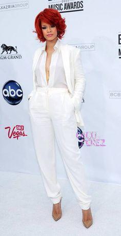 beautiful tailored white tuxedo.