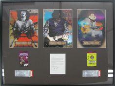 Santana Memorabilia | Examples | Custom Framing | Pictures Frames and More Custom Framing, Picture Frames, Baseball Cards, Cover, Books, Pictures, Portrait Frames, Livros, Photos