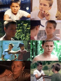 River Phoenix  Chris Chambers  stand by me. best movie ever made!