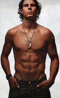 The Australian Open starts tomorrow...If you don't like tennis...Rafael Nadal is a good reason to watch.