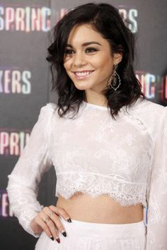 hudgens through shirt see Vanessa