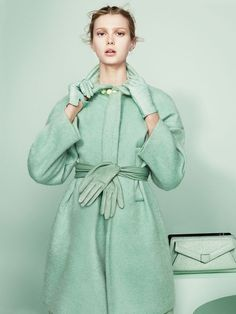 Sigrid Agren In Pastel Parfaits By Paul Wetherell For The New York Times T Style Magazine Fall2013 - 8 Style   Sensuality Living - Anne of ...