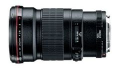 Canon EF 200mm f/2.8L II USM Telephoto Lens for Canon SLR Cameras by Canon. $769.00. From the Manufacturer                Zoom in on a favorite subject from a distance with the Canon EF 200mm telephoto lens. Offering a long focal length that lets you effectively compress the distance between the subject and camera, the lens lets you easily capture the details and feeling of a far-off scene. The lens is distinguished by two ultra-low-dispersion (UD) glass eleme...