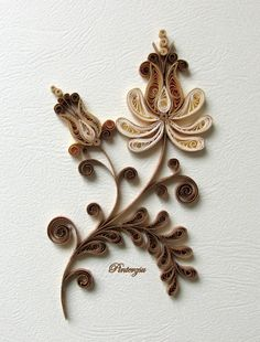 Quilling card