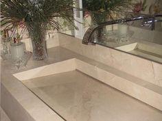 bancada de crema marfil http://oazulejista.blogspot.com.br/2014/05/como-utilizar-marmore-e-granito.html#axzz3273t3w1i