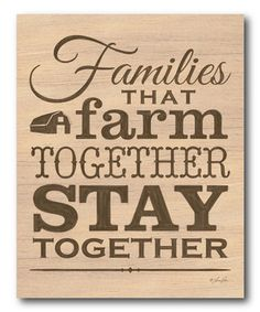 Look at this #zulilyfind! 'Farm Together' Gallery-Wrapped Canvas by COURTSIDE MARKET #zulilyfinds