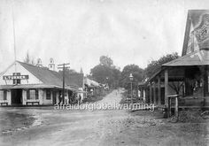 Old Photo Waianuenue Street - Hilo, Hawaii