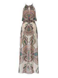 Smocked Maxi-Dress 02/2013 #104 – Sewing Patterns   BurdaStyle.com