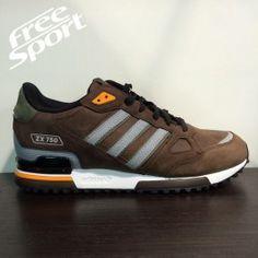 Adidas ZX750 Marrone in Pelle G64040