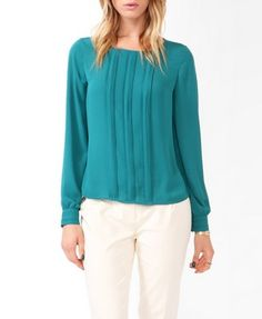 Essential Triple Pleated Top | FOREVER21 - 2027705294