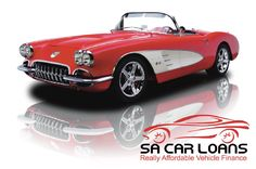 1958 Chevy Corvette Momma's one of midlife crisis cars Chevrolet Corvette, Chevy, 1958 Corvette, Convertible, Little Red Corvette, Classic Corvette, Gm Car, E Type, Sweet Cars