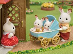 [SF] Chocolate Rabbit Twins Set buy on Sylvanian Families. , offer Sylvanian Families at discounted rate in Sylvanian Families Diy Dollhouse, Dollhouse Miniatures, Toddler Toys, Kids Toys, Calico Critters Families, Chocolate Rabbit, Diy Barbie Clothes, Dog Halloween Costumes, Vintage Teddy Bears