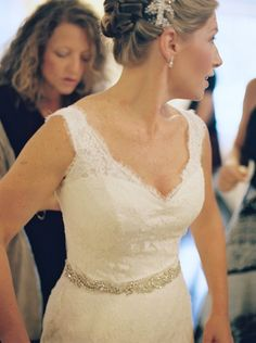 Sleeveless Lace Wedding Gown1 | photography by http://www.charlottejenkslewis.com