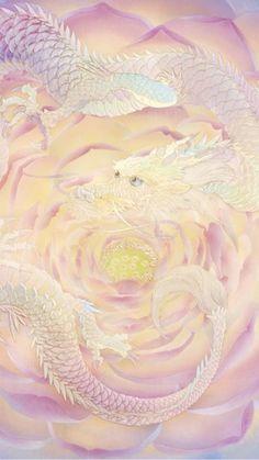 Chinese Dragon, Chinese Art, Fantasy Kunst, Fantasy Art, Dragon Wallpaper Iphone, Chinese Drawings, Spirited Art, Phoenix, White Dragon
