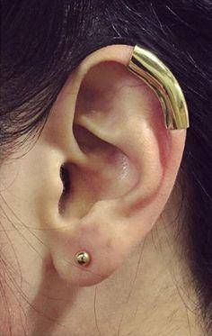 Helix Ear Cuff in Silver