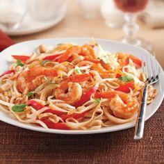 Pad thaï aux crevettes - Recettes - Cuisine et nutrition - Pratico Pratique