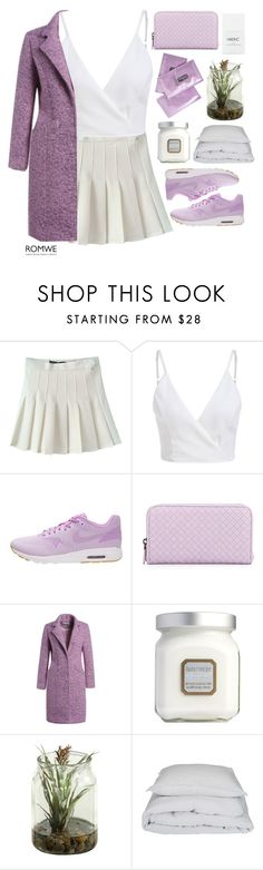 """#Romwe"" by credentovideos ❤ liked on Polyvore featuring NIKE, Bottega Veneta, Laura Mercier, By Nord and Nails Inc."