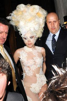 lady+gaga+updo | Lady Gaga Beehive - Lady Gaga Updos - StyleBistro