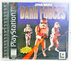 Star Wars: Dark Forces Playstation PS1 Video Game Complete Custom Edition Empire