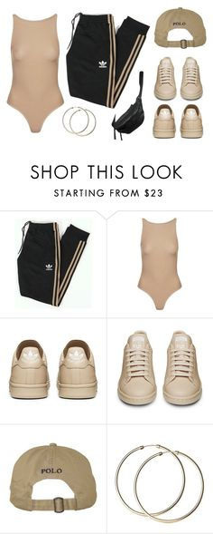 """""""adibabe"""" by baludna ❤ liked on Polyvore featuring adidas Originals, Topshop and Yvonne Kone"""