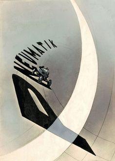 Laszlo Moholy-Nagy, 'Pneumatik', 1924.