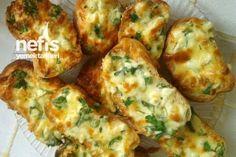 Crispy Bread with Cheese - Delicious Recipes Yogurt Breakfast, Breakfast Bake, Stale Bread, Frittata Recipes, Best Breakfast Recipes, Cheese Bread, Freezer Cooking, Iftar, Turkish Recipes