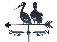 "Weathervanes are essential for homes that have a slope down behind the home. This weathervane is better than one single bird. It has more ""relationship energy""."