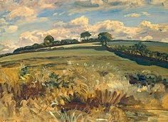 Withypool Landscape Exmoor - Sir Alfred Munnings