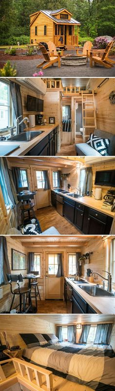 Atticus a 176 sq ft tiny house on wheels by the Tumbleweed Tiny House Company. Available for rent a&; Atticus a 176 sq ft tiny house on wheels by the Tumbleweed Tiny House Company. Available for rent a&; Oulala […] Homes On Wheels exterior Tiny House Company, Tiny House Plans, Tiny House On Wheels, Tiny House Trailer, Tyni House, Tiny House Living, House Beds, Small Living, Two Bedroom Tiny House