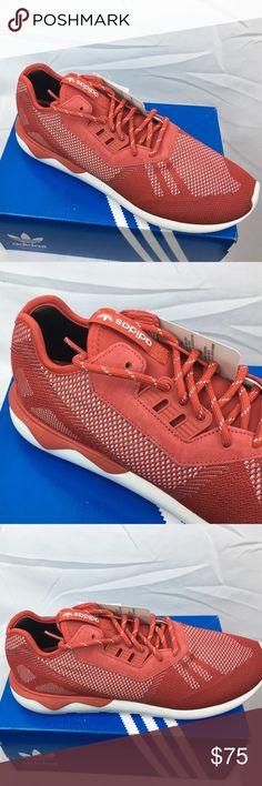 Adidas hombre  zapatos Navy blanco tejido tubular de corredor b25596 talla 9
