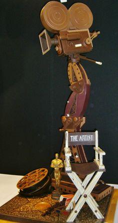 Sculpture en chocolat - Salon du chocolat Metz