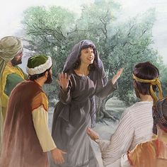 How did Jesus treat women? Did he consider them as sexual objects? Learn Bible principles and the effect of Jesus' teachings in the Christian congregation today. Christian Husband, Christian Men, Meaningful Pictures, Bible Pictures, Women Of Faith, Strong Women, Jesus Teachings, Luke 24, Baroque Painting