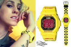 DEV: Yellow Hellz Bellz x Baby-G Watch