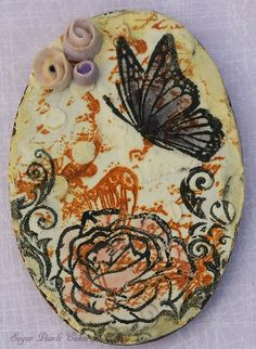 Mixed media/ Butterfly/ Decorated Cookies/ Sugar Pearls Cakes & Bakes/ Stamped cookies/ Royal icing/ Edible art