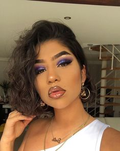 Gorgeous Makeup: Tips and Tricks With Eye Makeup and Eyeshadow – Makeup Design Ideas Makeup On Fleek, Flawless Makeup, Cute Makeup, Gorgeous Makeup, Pretty Makeup, Skin Makeup, Beauty Makeup, Makeup Tips, Hair Beauty